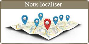 Plan d'accès de la scierie Danel en Nord Pas-de-Calais