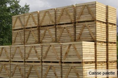 scierie Nord Pas-de-Calais : caisse palette